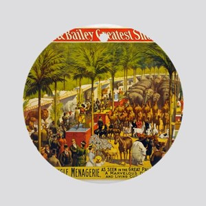 barnum and bailey Ornament (Round)