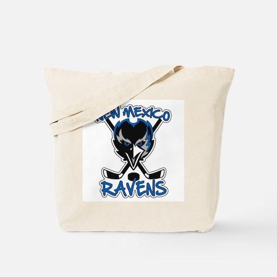 New Mexico Ravens Hockey Tote Bag