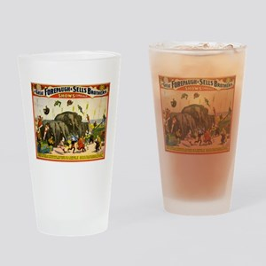 circus Drinking Glass