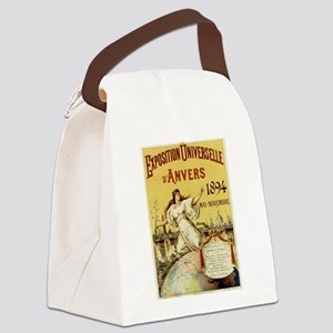 french poster Canvas Lunch Bag