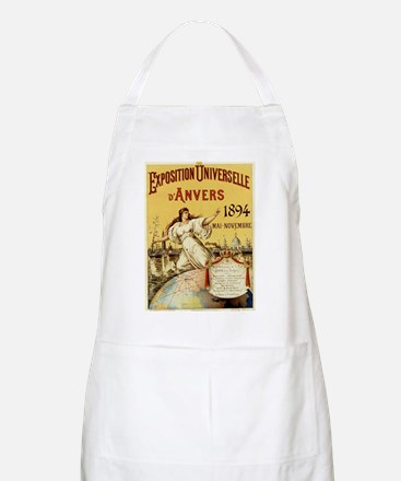 french poster Apron