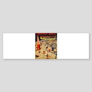 barnum and bailey circus Sticker (Bumper)