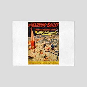 barnum and bailey circus 5'x7'Area Rug