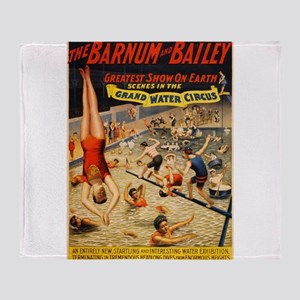 barnum and bailey circus Throw Blanket