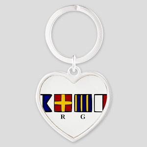 argh! Heart Keychain