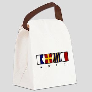 argh! Canvas Lunch Bag