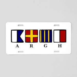 ARGH Aluminum License Plate