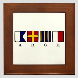 ARGH Framed Tile