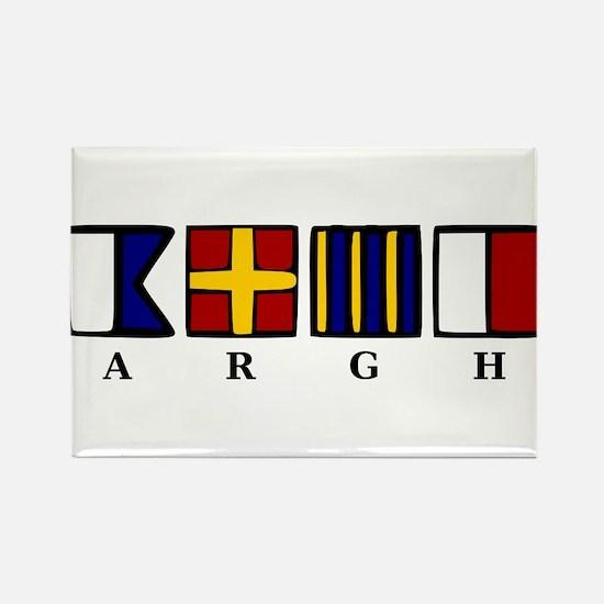 ARGH Rectangle Magnet (10 pack)