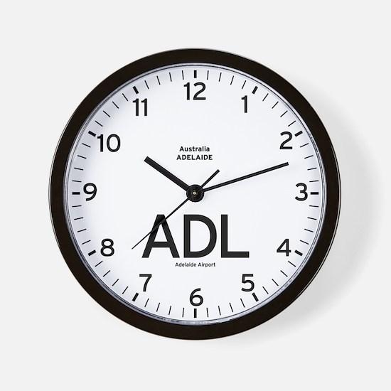 Adelaide ADL Airport Newsroom Wall Clock