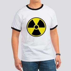 Radiation Warning Symbol Ringer T