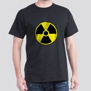 Radiation Warning Symbol Dark T-Shirt