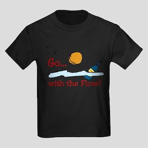 With The Flow Kids Dark T-Shirt