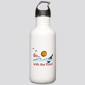 With The Flow Stainless Water Bottle 1.0L