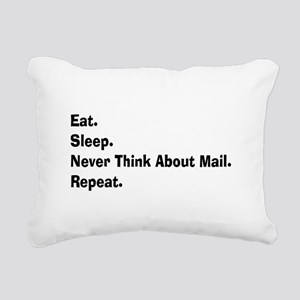 Retired USPS eat sleep never think mail Rectan