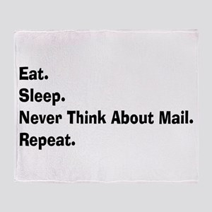 Retired USPS eat sleep never think mail Stadi