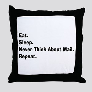 Retired USPS eat sleep never think mail Throw