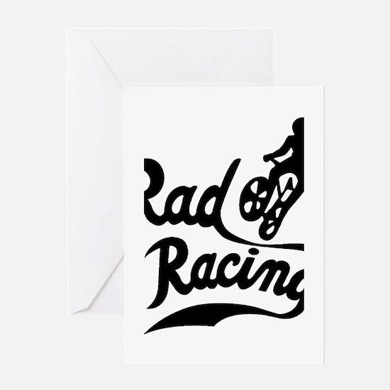 Rad Racing Greeting Cards