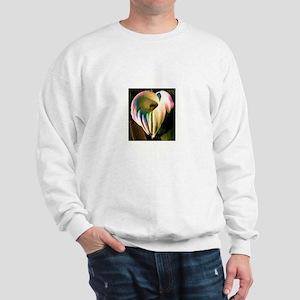 Multi-colored Calla Lily Sweatshirt