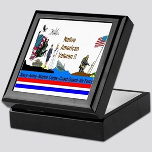 Native_American_Veterans Keepsake Box