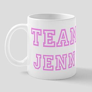 Pink team Jenn Mug