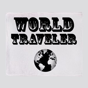 World Traveler Throw Blanket