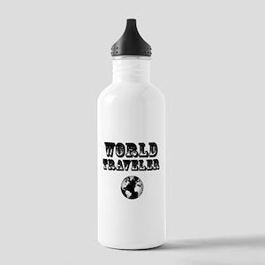 World Traveler Stainless Water Bottle 1.0L