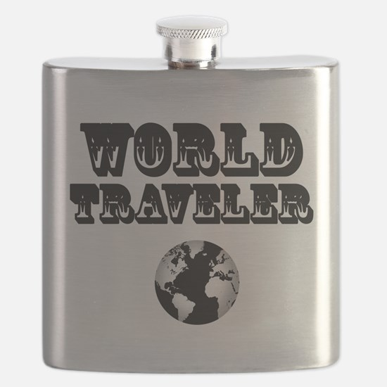 World Traveler Flask