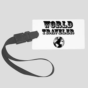 World Traveler Large Luggage Tag