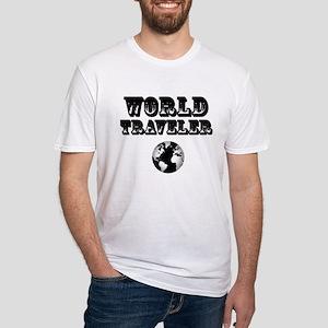 World Traveler Fitted T-Shirt