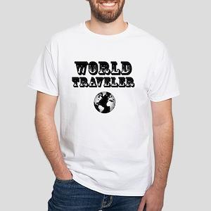 World Traveler White T-Shirt