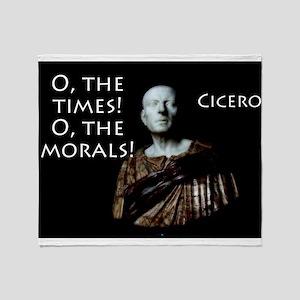 O The Times - Cicero Throw Blanket