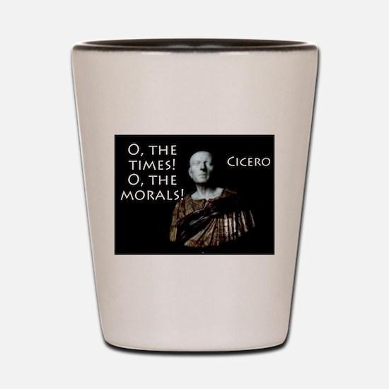 O The Times - Cicero Shot Glass