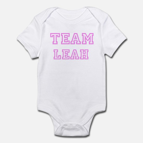 Pink team Leah Infant Bodysuit