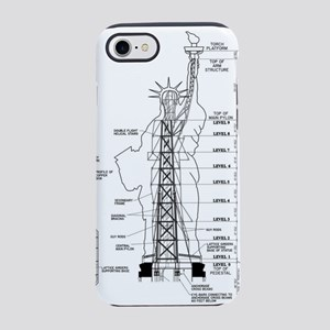 Statue of Liberty Structural S iPhone 7 Tough Case