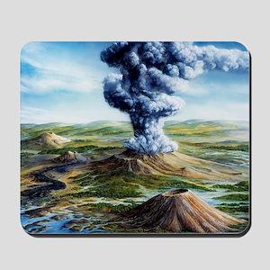 Ancient volcanic eruption - Mousepad