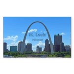 St. Louis Sticker (Rectangle 10 pk)