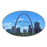 St. Louis Sticker (Oval 50 pk)