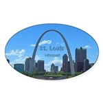 St. Louis Sticker (Oval)