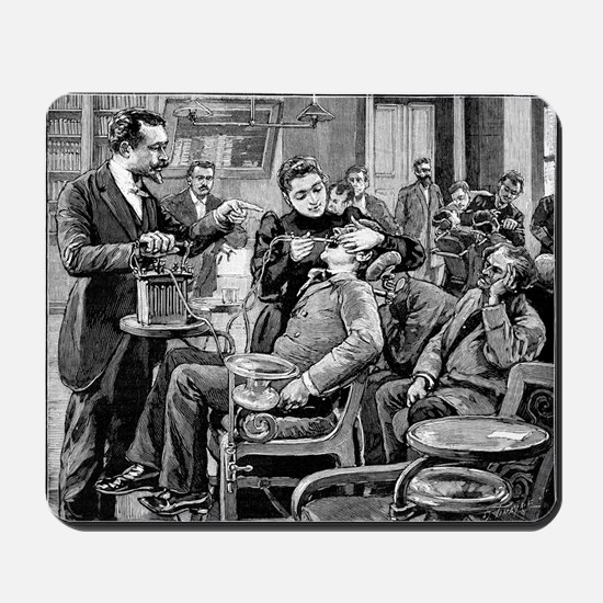 Dental surgery, 19th century - Mousepad