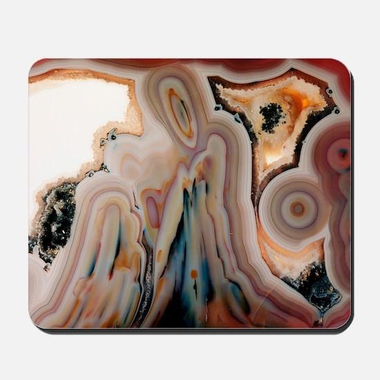 Agate slice - Mousepad