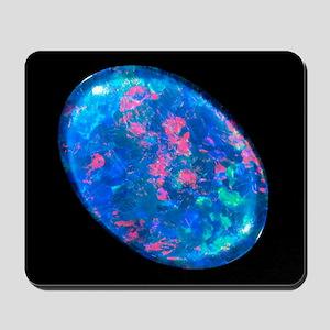 Single piece of blue opal - Mousepad