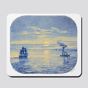 Sun Limb Deformation at Sunset - Mousepad