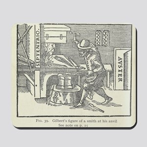 Magnetizing cooling iron - Mousepad