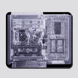 Video recorder, simulated X-ray - Mousepad