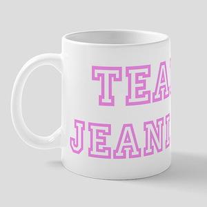 Pink team Jeanine Mug