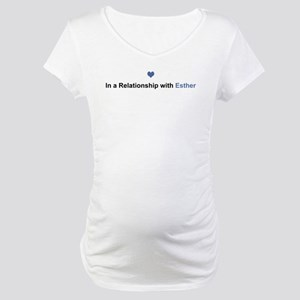 Esther Relationship Maternity T-Shirt