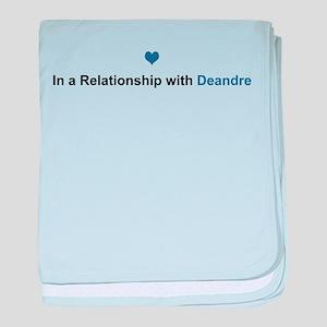 Deandre Relationship baby blanket