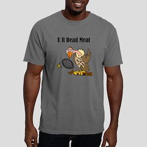 Funny Buzzard Tennis Art Mens Comfort Colors Shirt