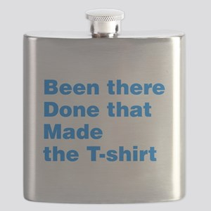 Been There Done That Made The T-Shirt Flask